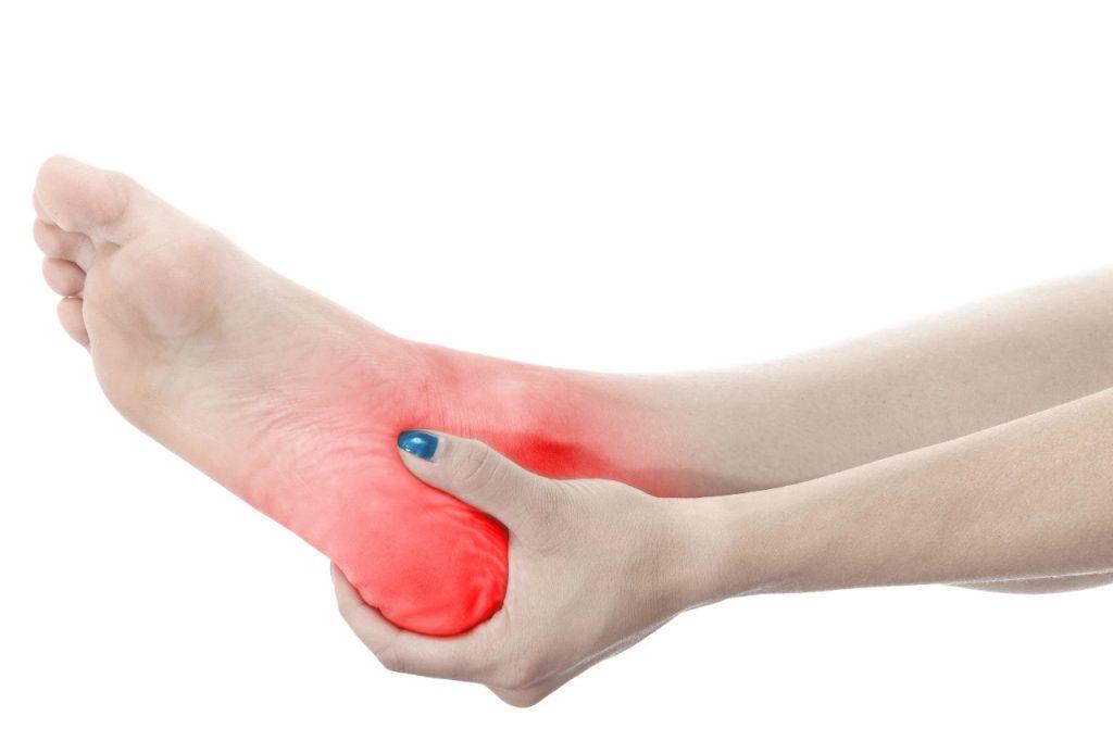 Fußschmerzen unteres Sprunggelenk